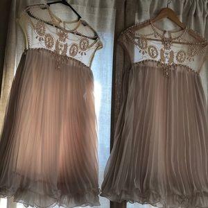 Dresses & Skirts - Set of (2) Women's Blush/Nude Dresses